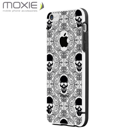 Moxie Skull Series Shell for iPhone 5C - Black