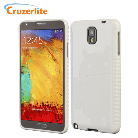 Cruzerlite Androidified A2 Case for Samsung Galaxy Note 3 - White