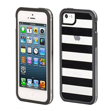 Griffin Cabana Separates for iPhone 5S / 5 - Black / Clear