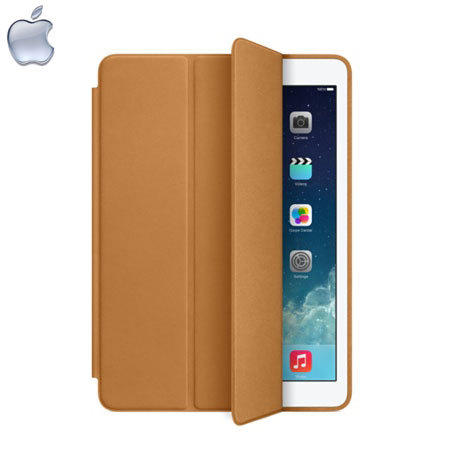 Apple Leather Smart Case for iPad Air - Brown