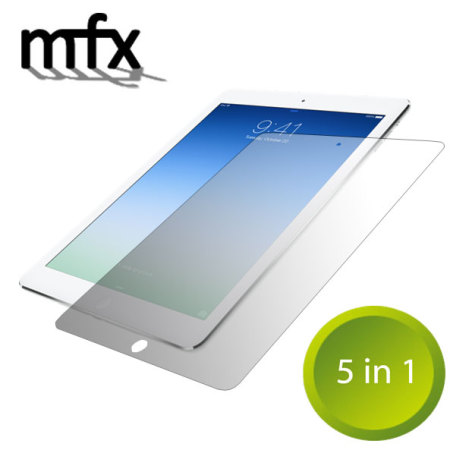 MFX 5-in-1 Pack of Screen Protectors for iPad Air
