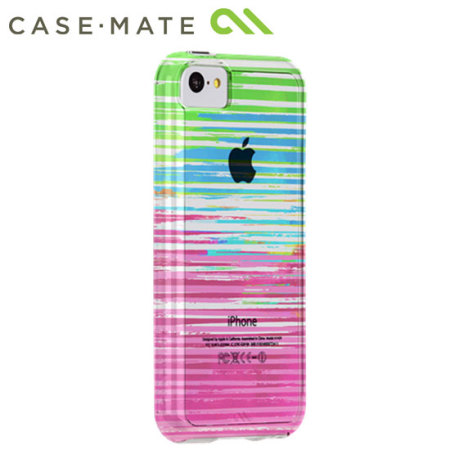 Case-Mate Tough Naked iPhone 5C - Stripes / Clear