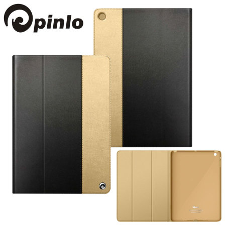Pinlo Asti Collection for iPad Air - Black / Gold