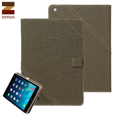 Zenus Cambridge Diary for iPad Air - Khaki