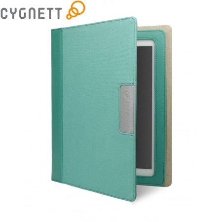 Cygnett Alumni Canvas Case for iPad 2 / 3 / 4 - Jade Green