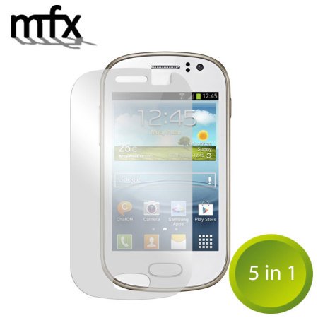 MFX Screen Protector 5-in-1 Pack for Samsung Galaxy Fame