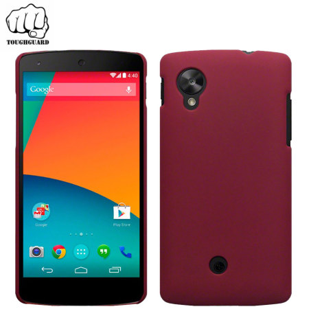 ToughGuard Shell for Google Nexus 5 - Red