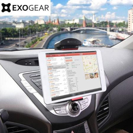 Supporto auto per tablet da 5 5 39 39 a 8 39 39 exogear exomount - Porta cd auto simpatici ...