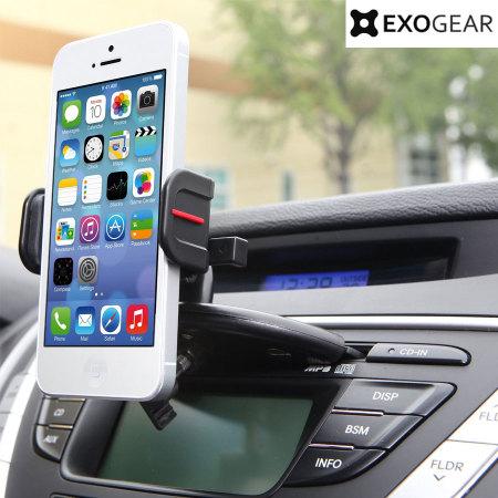 support voiture exogear exomount cd pour smartphones 3 5. Black Bedroom Furniture Sets. Home Design Ideas