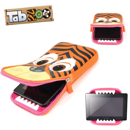 TabZoo Universal Tablet Sleeve 8 Inch - Tiger