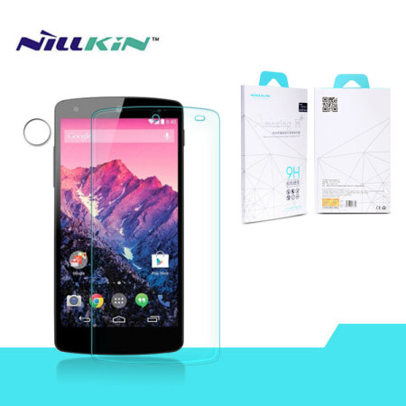 Protector de pantalla Nexus 5 Nillkin 9H Tempered Glass