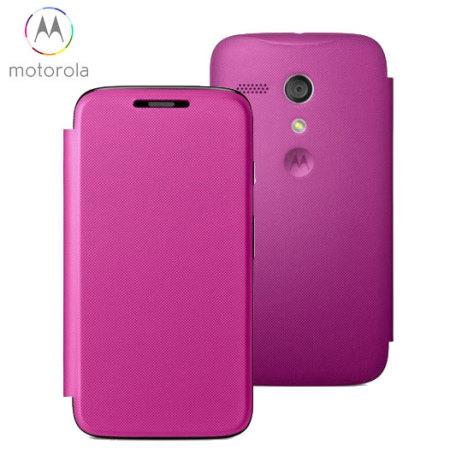 9aa34e720a1 Funda oficial de tapa Motorola Moto G - Violeta