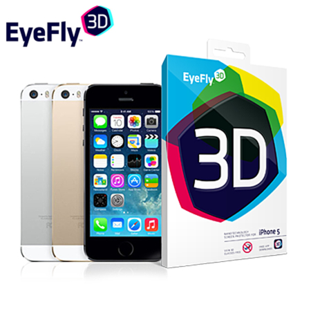 EyeFly 3D Screen Protector for iPhone 5S / 5C / 5