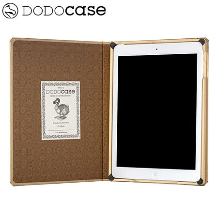 DODOcase Metallics iPad Air Case - Golden Coriander