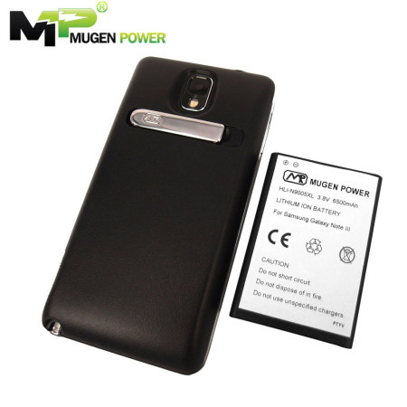 Mugen Power Extended 6500mAh Battery Case for Samsung Galaxy Note 3