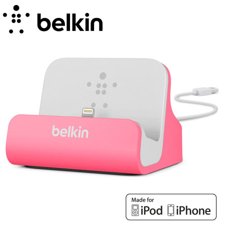 belkin lightning ladestation f r iphone 5s 5c 5 in. Black Bedroom Furniture Sets. Home Design Ideas