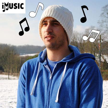 iMusic Knitted Unisex Bluetooth Beanie Hat