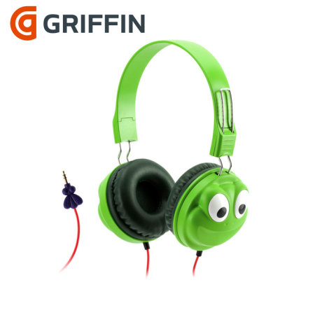 Griffin KaZoo Sound Control Headphones - Frog