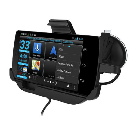 Car Mount Cradle & Charger for Google Nexus 5