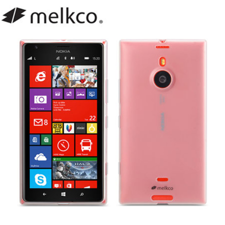 Melkco Poly Jacket Case for Nokia Lumia 1520 - Transparent Matte