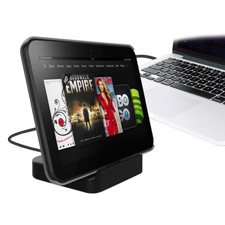 Cover-Mate Sync & Charge Dock for Galaxy Tab 3 7.0 / 8.0 / 10.1