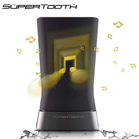 SuperTooth Disco 2 Stereo Bluetooth Speaker - Black