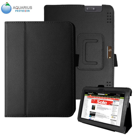 Aquarius Protexion Folio Stand Case for Kindle Fire HDX 8.9 - Black