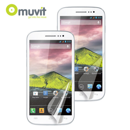 MUVIT Screen Protectors for Wiko Cink Five