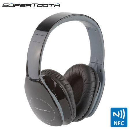 SuperTooth Freedom Stereo Bluetooth Headphones - Black