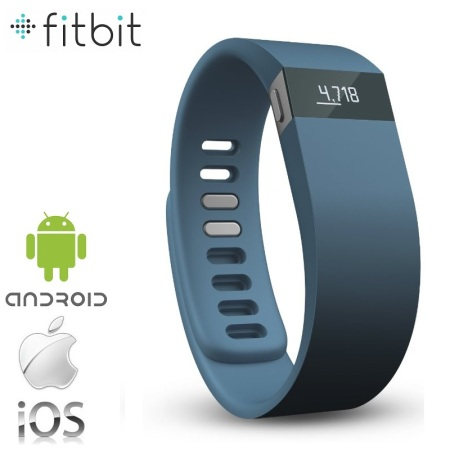 Fitbit Force Refresh Wireless Activity Wristband - Slate - Large