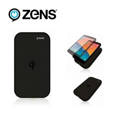 Zens Qi Wireless Charging Pad USB - Black