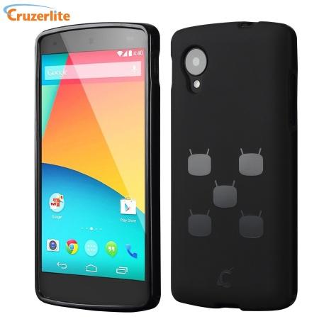 Cruzerlite CyanogenMod TPU Case for Google Nexus 5 - Black