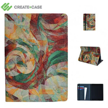 Create and Case Leather Flip Case for iPad Air - Rapt