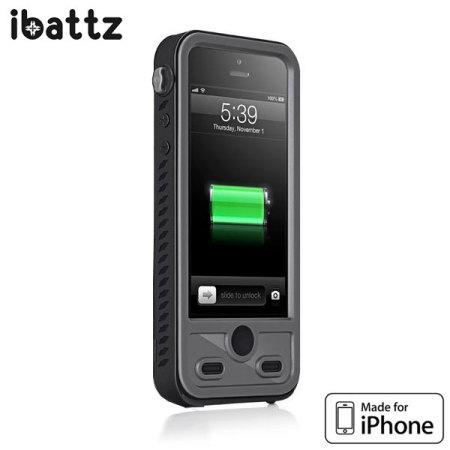 huge selection of 3f671 63304 ibattz Refuel Aqua Waterproof Extended Battery Case for iPhone 5S / 5