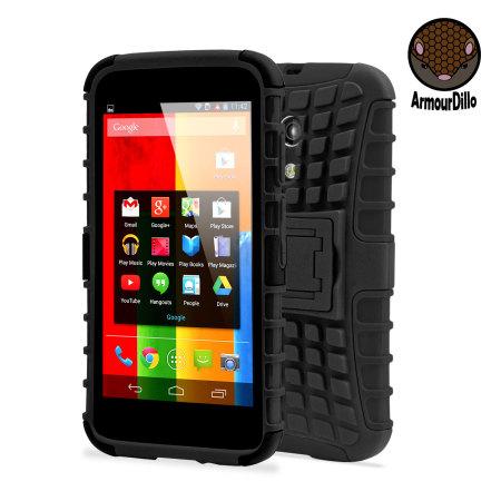 036cf3a0531 Funda para el Motorola Moto G ArmourDillo Hybrid Protective - Negra