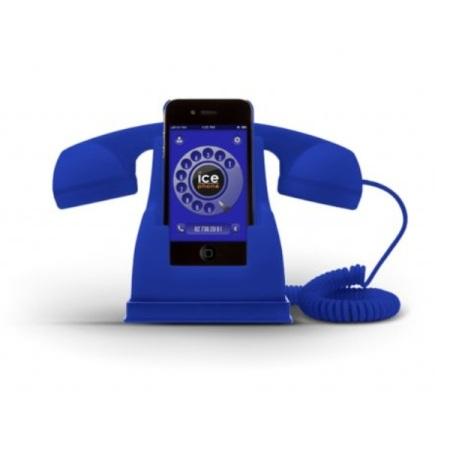 Ice-Phone Retro Handset - Blue