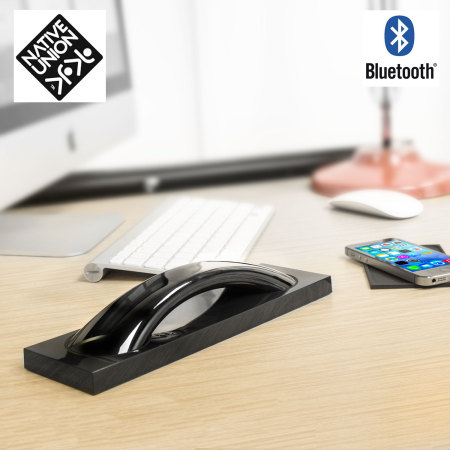 Native Union Curve Bluetooth Handset with Base - High Gloss Black