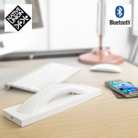 Native Union Curve Bluetooth Handset with Base - High Gloss White