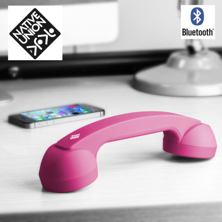 Native Union Retro Bluetooth POP Phone - Neon Pink