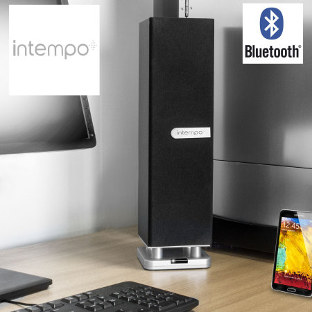 Intempo TableTop iTower Bluetooth Speaker - Black