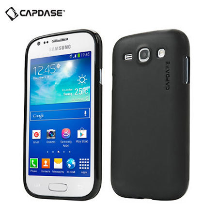 Capdase Soft Jacket Xpose for Samsung Galaxy Ace 3 - Black