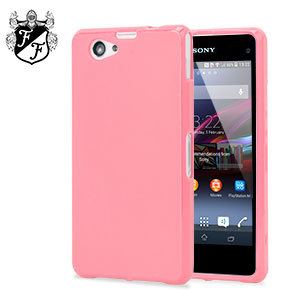 Flexishield Case for Sony Xperia Z1 Compact- Powder Pink