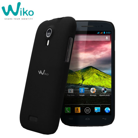 Wiko Ultra Thin Case for Wiko Cink Five - Black