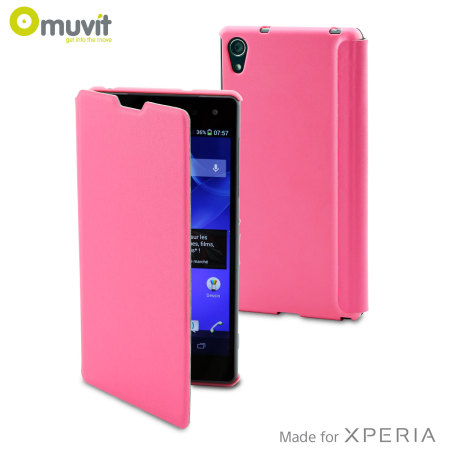 housse sony xperia z2 ultra slim folio muvit blanche images frompo