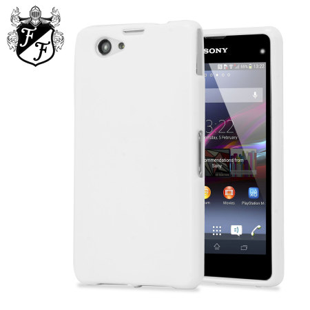 coque sony xperia z1 compact flexishield blanche avis. Black Bedroom Furniture Sets. Home Design Ideas