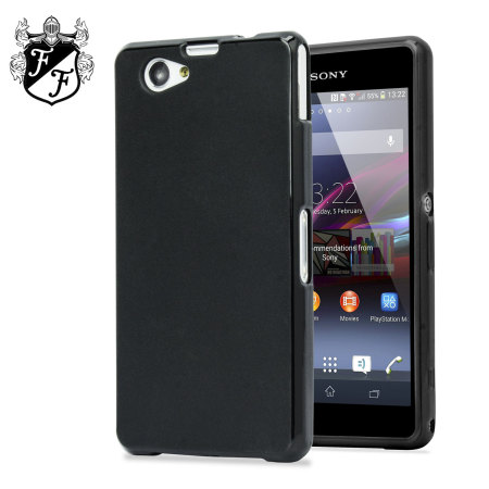 coque sony xperia z1 compact flexishield noire fum e avis. Black Bedroom Furniture Sets. Home Design Ideas