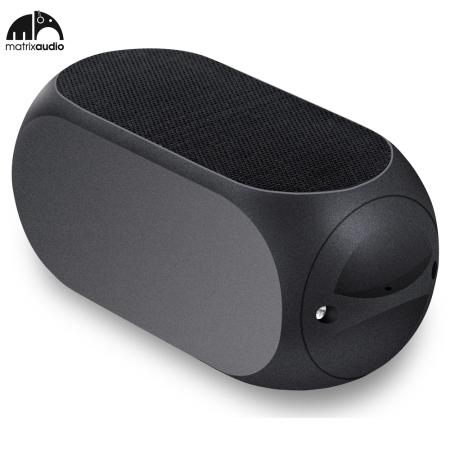 Matrix Audio Qube2 Universal Bluetooth Pocket Speaker - Black