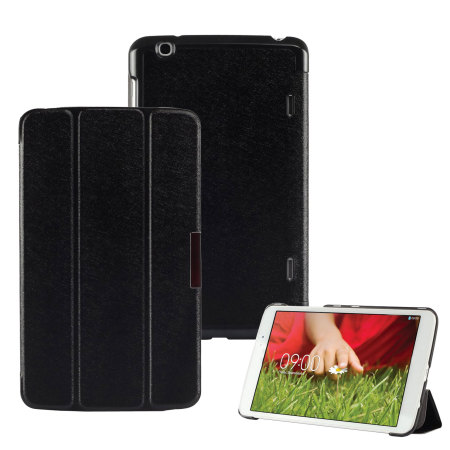 Stand and Type Folio Case for LG G Pad 8.3 - Black