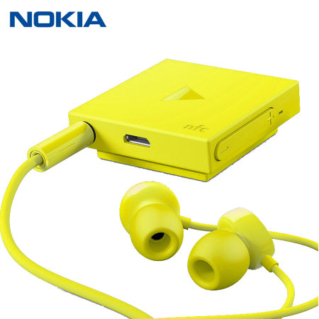 Nokia BH-121 Bluetooth Stereo Headset - Yellow