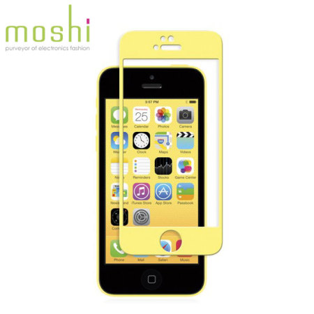 the best attitude 9279a 7b63d Moshi iVisor Glass Screen Protector for iPhone 5S / 5C / 5 - Yellow